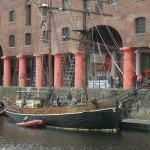 Ship at Albert Dock