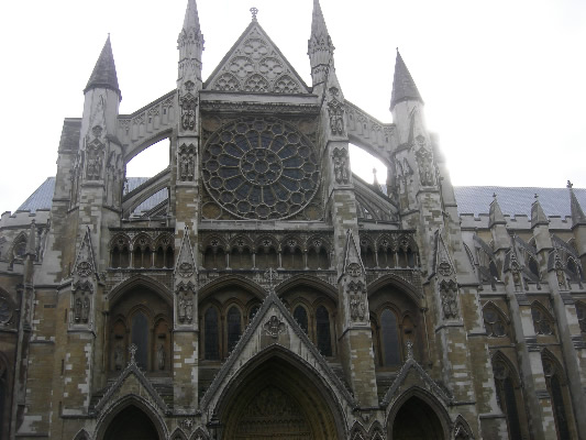 Westminster Abbey - image by Jim Liston on jimsgotweb.com