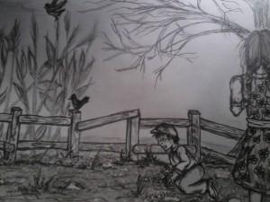 The Show illustration by Regina Jobe
