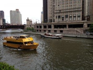 Chicago taxi boats