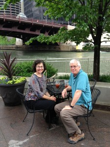 Robin and Jim in Chicago